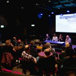 Panel with Pete Astor, Kieron McIntosh and Mary Spender