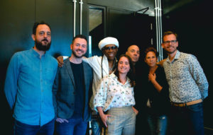 The Songwriting Studies and Ivors teams with Nile Rodgers and Merck Mercuriadis