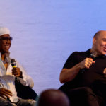 Nile Rodgers and Merck Mercuriadis at the Ivors Academy