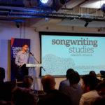 Ivors Academy CEO Graham Davies welcomes guests to the second Songwriting Studies Research Network event