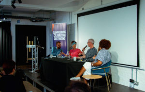 Dr Craig Hamilton chairs an industry roundtable at The Ivors Academy featuring artist and scholar Dr Paula Wolfe, music journalist Eamonn Forde, Grammy-winner Victoria Horn and Ivor Novello-winner Michelle Escoffery.