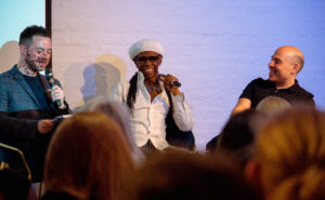 Nile Rodgers answers questions from the Songwriting Studies Research Network at the Ivors Academy