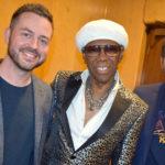 Sodajerker (aka Simon and Brian) with Nile Rodgers