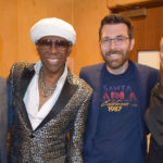 Sodajerker (aka Simon and Brian) with Nile Rodgers and Merck Mercuriadis