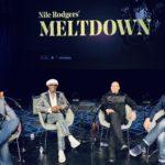 Simon Barber, Nile Rodgers, Merck Mercuriadis, Brian O'Connor