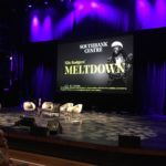 The stage is set for the live Sodajerker podcast with Nile Rodgers and Merck Mercuriadis at Meltdown